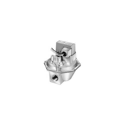 Diaphragm Gas Valve, 2 Stage Pressure Regulating, Slow Opening, 1 inch NPT, 30 inch Wires ()