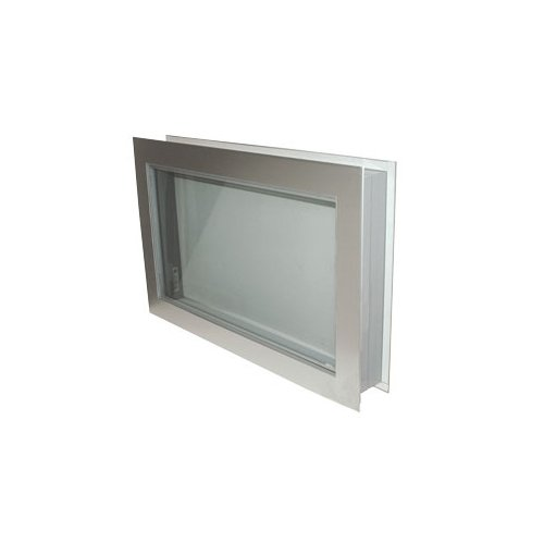 Aluminum Clad PVC 14'' x 14'' | Non Heated | Viewport Window | 4'' Wall Thickness