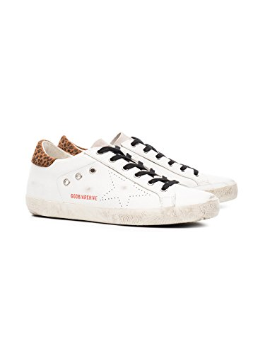 GARWS590F1 Sneakers Pelle Goose Golden Bianco Donna wtqAWpH