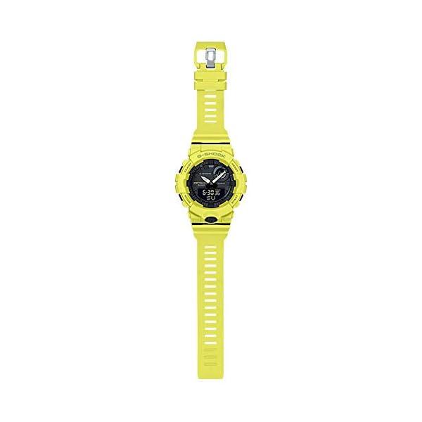 G-Shock By Casio Men's Analog-Digital GBA800-9A Bluetooth Watch Lime Green 3