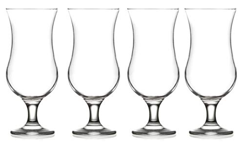 (Epure Venezia Collection 4 Piece Glassware Set (Pina Colada (15.5)