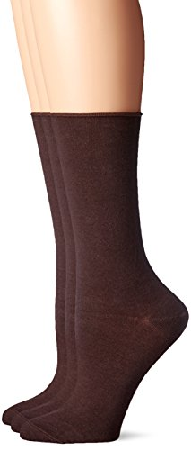 Hue Women's Jeans Sock (Pack of 3), Espresso, One Size