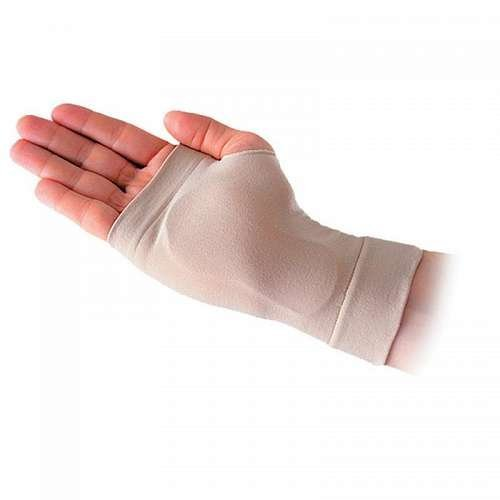 Silipos 14135 Carpel Gel Sleeve - [Left], Large Hypoallergenic Compression Tube with Medical Grade Mineral Oil Gel. Arm & Ankle Supports