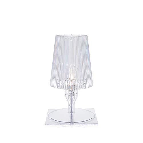 Chevet Lampe De Transparent Kartell Take 9050b4 O0kPwn