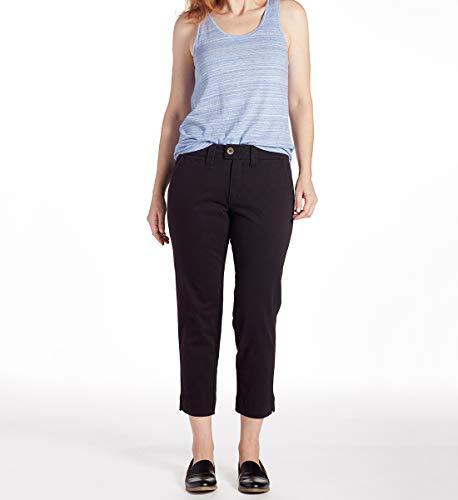 - Jag Jeans Women's Creston Ankle Crop, Black, 14
