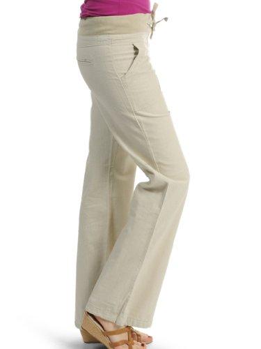 2019 echt Neue Produkte offiziell Vero Moda Leinenhose Timun Rib Pant Blast Linen, Größe:42 ...