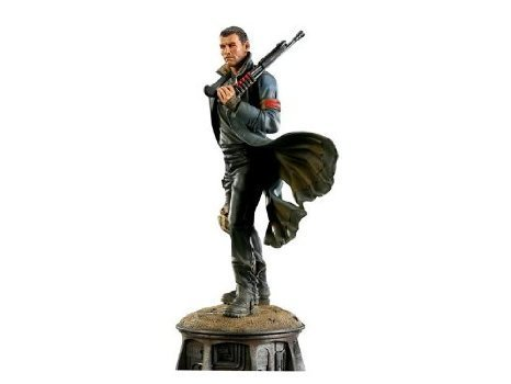 Sideshow Terminator - Sideshow (side show) Terminator (terminator) Salvation Marcus Wright Statue Exclusive Edition Figure Toy dolls (parallel import)