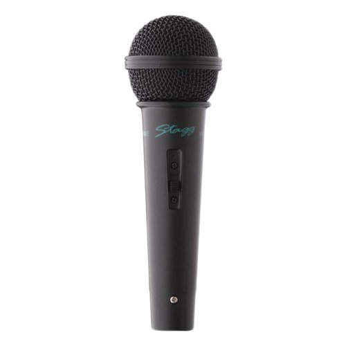 (Stagg MD-500BKH Cardioid General Purpose Dynamic Microphone - Black)