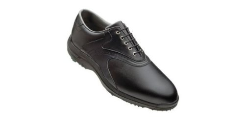 FootJoy Mens GreenJoys Golf Shoes - Size: 11.5, Black/black