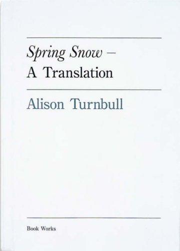 Read Online Spring Snow - A Translation: Yukio Mishima pdf