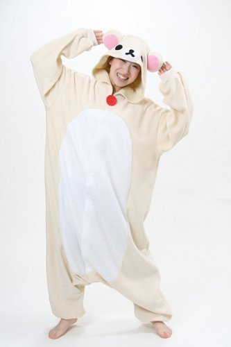 Japan Sazac Original Kigurumi Pajamas Halloween Costumes Rilakkuma San-X -