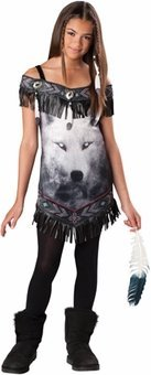 Tribal Spirit Tween Costume - Medium
