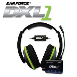 Turtle Beach – Ear Force DXL1 Gaming Headset – Dolby Surround Sound – Xbox 360