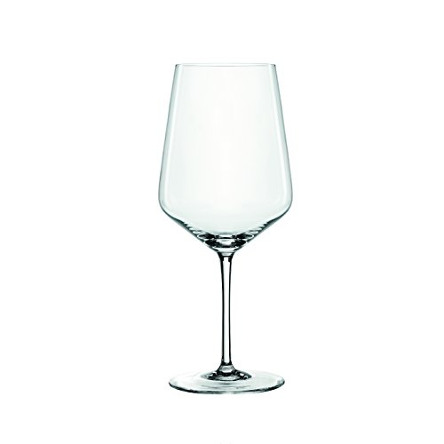 Spiegelau 4670181 Red Wine Glasses Cocktail Drinkware, Set of 4, Clear (Oz Wine Glass 22)