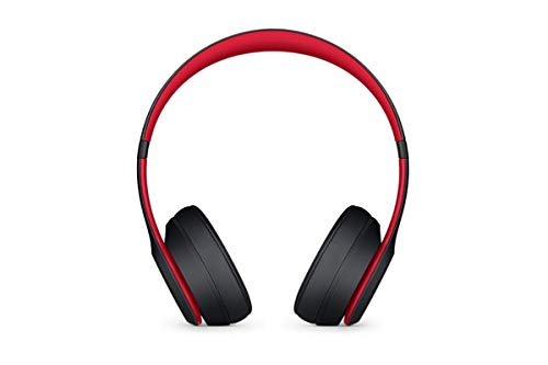 Beats Solo3 Wireless On-Ear Headphones - The Beats Decade Collection -  Defiant Black-Red - Earbuds Shop e5a915909