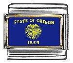Oregon State Flag Italian...