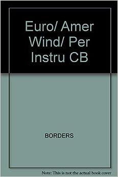 Descargar Elitetorrent Euro/ Amer Wind/ Per Instru Cb Epub Patria