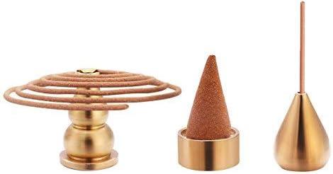 Coils Incense Pyrotechnic Burner Holder for Stick Cone Incense Burner