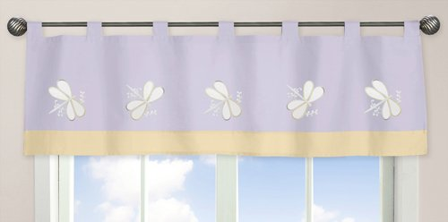 Amazon Com Sweet Jojo Designs Toddler Bed Skirt Purple