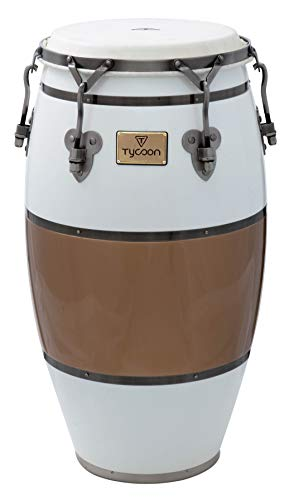 (Tycoon Percussion TSCHBC120CCL Signature Heritage Cafe Con Leche Series Conga 11 3/4)
