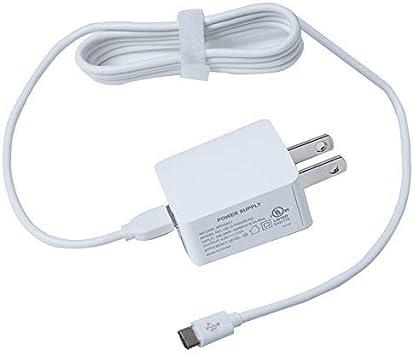AC Charger for Lenovo Tab 2 A7 A8 A10 A7-10 A7-10F A7-30 A7-40 A7-20 A7-20F A10-30 A10-70 A7-10 E7 E8 E10 S8 A1000 A3000 S6000 Tablet Power Cord ...