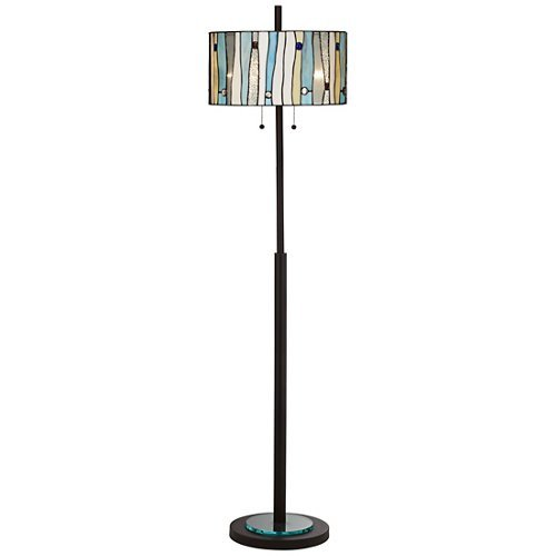 Appalachian Spirit Dark Bronze Floor - Lamp Bronze Floor Kathy Ireland