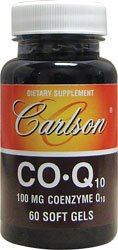 Carlson Labs CO-Q-10 100 mg, 60