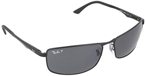 ray-ban-rb3498-sunglasses-006-81-61-matte-black-frame-polar-gray