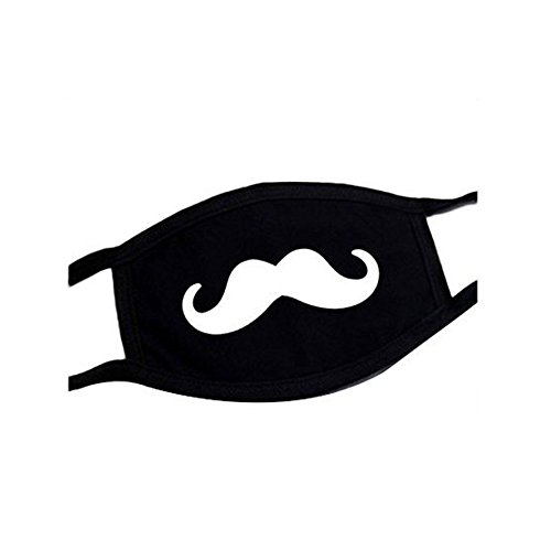 Emotionlin® Dustproof Ventilation Personality Thickening Anime Unisex Men Masks (Beard)
