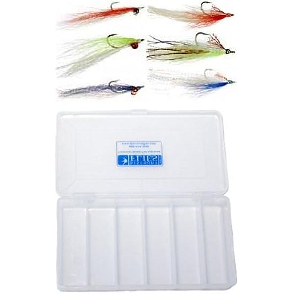 4QTY CLOUSER MINNOW SILVER SHINER  Fishing Flies size 02
