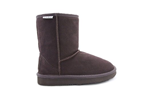 Aussie Merino Fur Lined Wool Cold Weather Water Resistant Winter Boot Mid Calf - Auckland ()