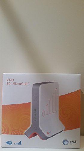 [AT&T Microcell Wireless Cell Signal Booster Tower Antenna (Compatible with 3G, 4G, and LTE Phones)] (Cell Phone Reception Amplifier)