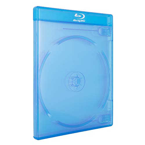 AcePlus 100 Pieces Blu-ray case Double Screen Printed Logo