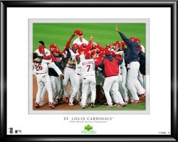St Louis Cardinals 2006 World Series Champs Framed - Champs Series World 2006
