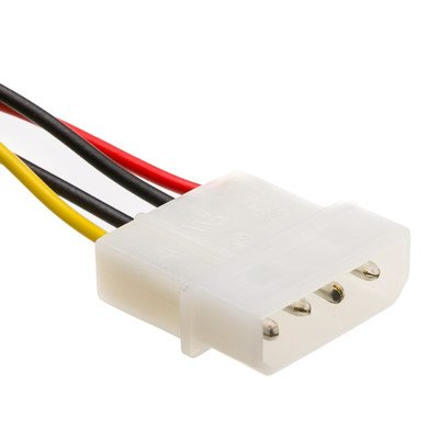 6 inch, 4 Pin Molex to Floppy, Power Cable ( 100 PACK ) BY NETCNA by NETCNA (Image #2)