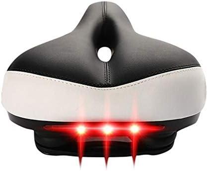 MBD 自転車バイク用バックライト快適なフォームクッションサイクリングジェルパッドサドルと自転車サドル通気性のバイクシートカバー XHJ-16 (Color : A)