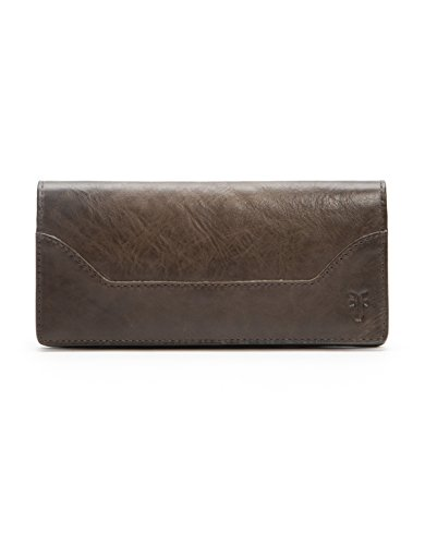 Melissa Continental Slim Wallet Wallet, Slate, One Size by FRYE