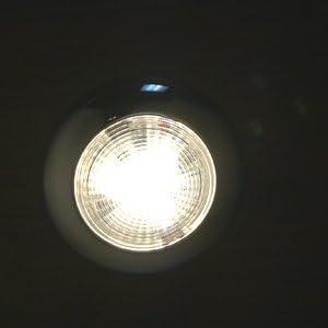 MARINE BOAT RV BRIGHT SLIM LED CEILING LIGHT SS304 PC LENS WARM WHITE INTERIOR