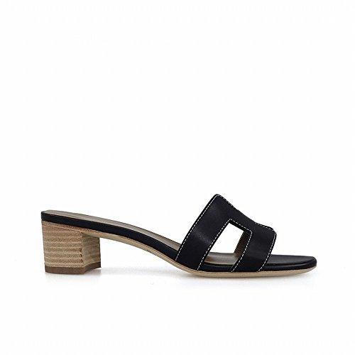 DHG H con spiaggia vere di Nero con pantofole da chic paio Spessa scarpe 35 sandali un wSrqc5ISxP