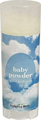 Natural Solid Perfume Roll Up (Baby Powder, 0.15 oz)