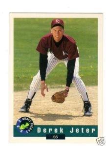 Derek Jeter 1992 Classic Draft # 6 Pre Rookie Card (1992 Classic Draft)