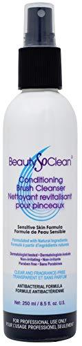 BeautySoClean Conditioning Brush Cleanser Ingredient