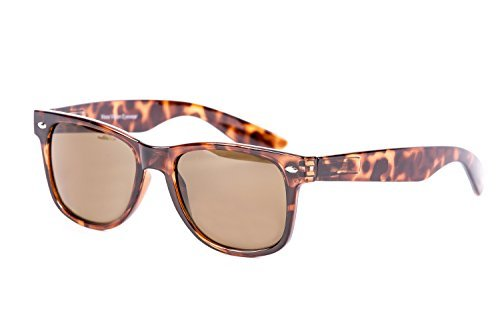 Amber Wayfarer Sunglasses - Anti Glare Polarized Lenses Sports for Men & - Optical Sunglasses
