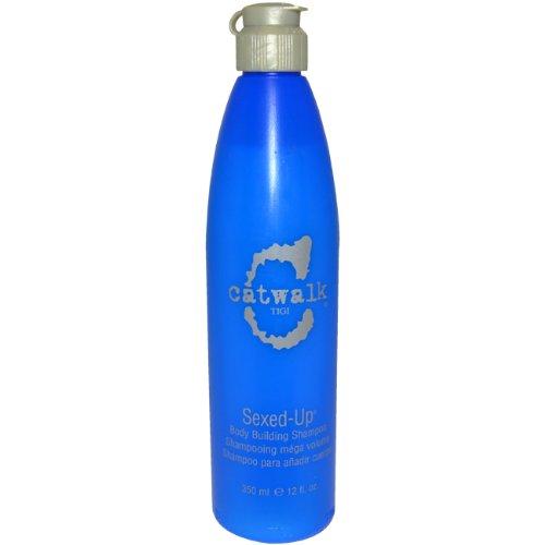 (TIGI Catwalk Sexed-Up Body Building Unisex Shampoo, 12)