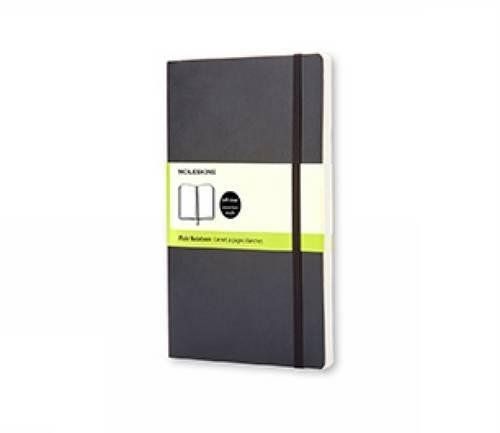 Moleskine Classic Notebook, Pocket, Plain, Black, Soft Cover (3.5 x 5.5) (Classic Notebooks)