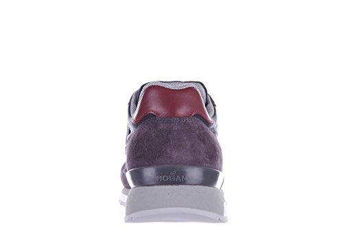Hogan Rebel zapatos zapatillas de deporte hombres en ante nuevo rebel r261 runni