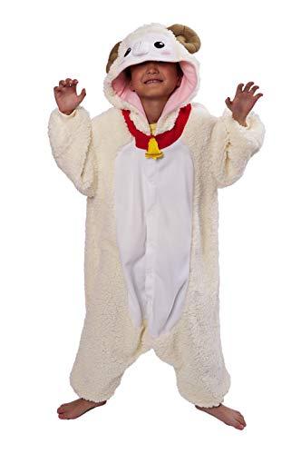 Sheep Kids Kigurumi Costume (5-9 Years) -
