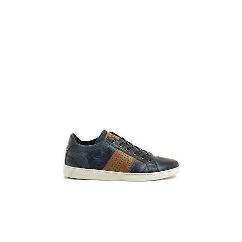 Bullboxer 735-K2-5742D Zapatos de cordones Hombre azul, EU 43