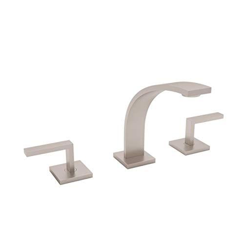 - Rohl WA102L-STN-2 Lavatory Faucets, Satin Nickel