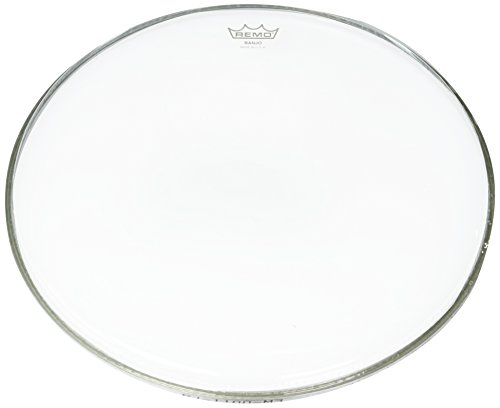 - Remo BJ1100M3 Clear Diplomat Banjo Head (11-Inch) - Medium Collar